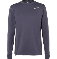 Nike Running Element Mélange Dri-FIT Therma Sphere Top