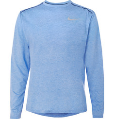 Nike Running - Rise 365 Mesh-Panelled Dri-FIT T-Shirt