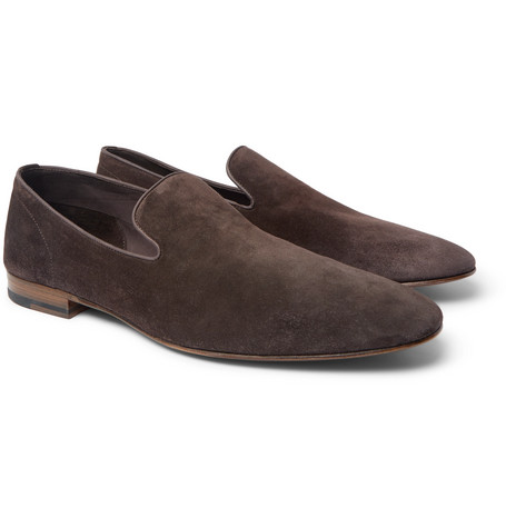 Officine Generale + Carvil Suede Loafers sast for sale visit new cheap price oduvS