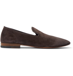 Officine Generale + Carvil Suede Loafers