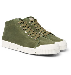Officine Generale - + Spring Court Canvas High-Top Sneakers