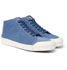Officine Generale - + Spring Court Twill High-Top Sneakers
