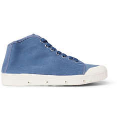 Officine Generale + Spring Court Twill High-Top Sneakers