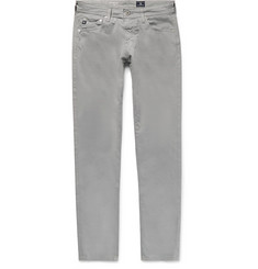 AG Jeans - Stockton Skinny-Fit Brushed Stretch-Cotton Trousers