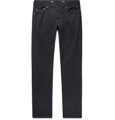 AG Jeans - Tellis Slim-Fit Stretch-Cotton Twill Trousers