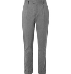 Hartford Pleated Cotton Trousers