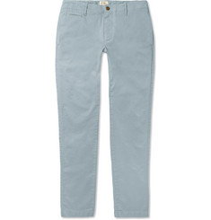Hartford - Tuscan Stretch-Cotton Twill Chinos