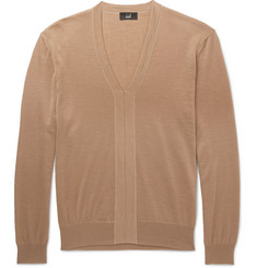 Dunhill - Cashmere, Merino Wool and Silk-Blend Sweater