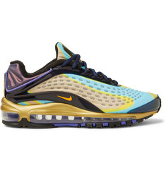 Nike Air Max Deluxe Rubber-Trimmed Mesh Sneakers