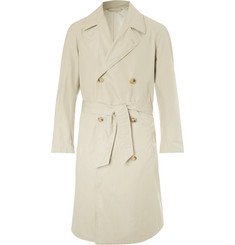 De Bonne Facture Cotton Ventile Trench Coat