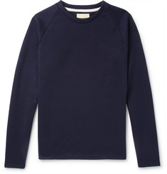 De Bonne Facture Cotton and Modal-Blend Sweater