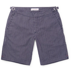 Orlebar Brown - Dane Striped Canvas Shorts