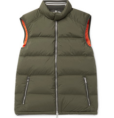 Orlebar Brown - Aidey Quilted Stretch-Nylon Down Gilet