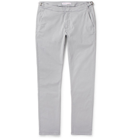 ORLEBAR BROWN CAMPBELL SLIM-FIT STRETCH-COTTON TROUSERS