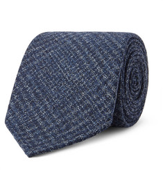 Drake's - 8cm Prince of Wales Checked Wool Tie