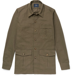 Drake's - Cotton-Canvas Shirt Jacket