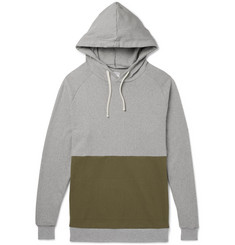 Arpenteur Colour-Block Cotton-Jersey Hoodie