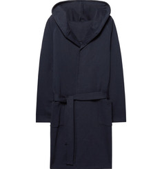Hamilton and Hare - Loopback Cotton-Jersey Hooded Robe