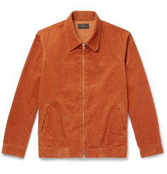 Beams Plus Cotton-Blend Corduroy Blouson Jacket