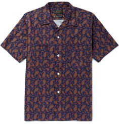 Beams Plus Camp-Collar Paisley-Print Cotton Shirt