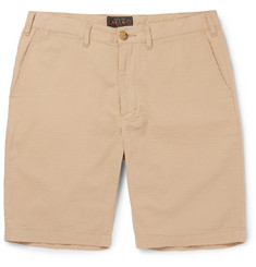 Beams Plus Ivy Slim-Fit Cotton-Seersucker Shorts