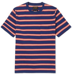 Beams Plus Striped Cotton-Jersey T-Shirt