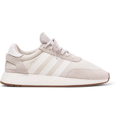 adidas Originals I-5923 Suede-Trimmed Neoprene Sneakers