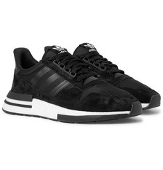 adidas Originals ZX 500 RM Suede, Mesh and Leather Sneakers
