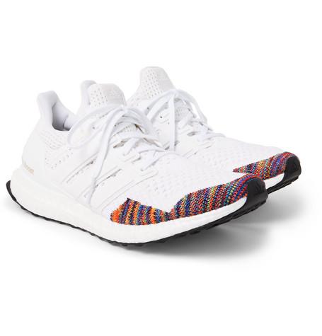adidas OriginalsUltraBOOST LTD Rubber-Trimmed Primeknit Sneakers 131816499