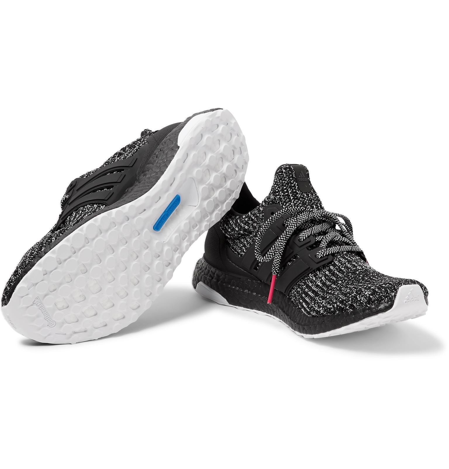 4d28bbc57f3 adidas Originals - UltraBOOST 4.0 Rubber-Trimmed Primeknit Sneakers