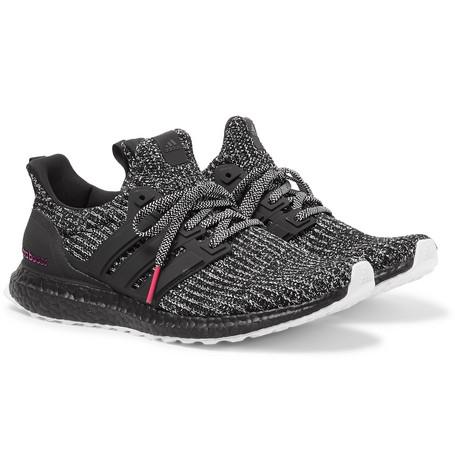 3ca762a0d5048 adidas Originals - UltraBOOST 4.0 Rubber-Trimmed Primeknit Sneakers