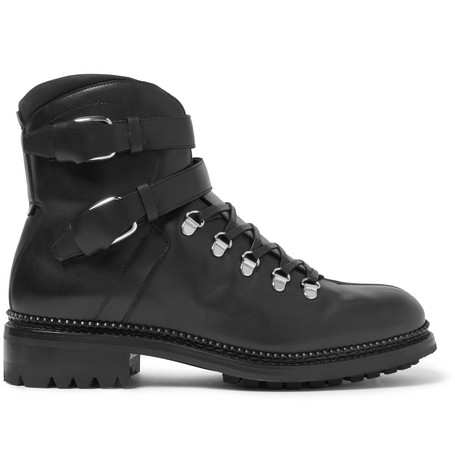 O'KEEFFE Alvis Leather Boots in Black