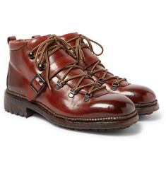 O'Keeffe - Alvis Polished-Leather Boots