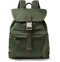 A.P.C. Sylvain Webbing-Trimmed Shell Backpack