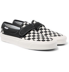Vans - Anaheim Factory 47 V DX Checkerboard Canvas Sneakers