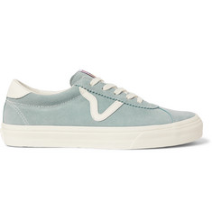 Vans Epoch Sport LX Leather-Trimmed Suede Sneakers