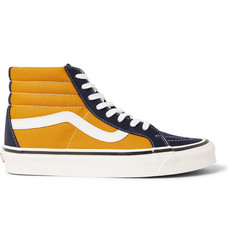 Vans Anaheim Factory SK8-HI 38 DX Suede and Canvas High-Top Sneakers