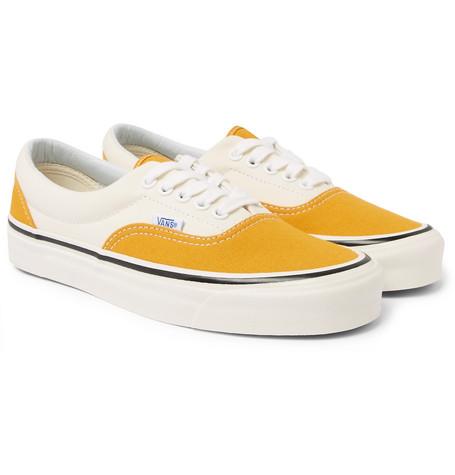 26153037b95ce0 Vans - Anaheim Era 95 DX Two-Tone Canvas Sneakers