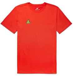 Nike ACG Logo-Print Cotton-Blend Jersey T-Shirt