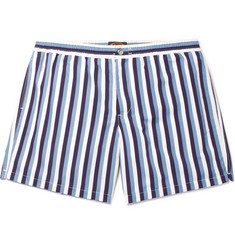 Tod's Short-Length Striped Swim Shorts