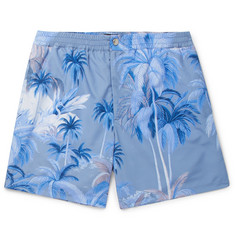 Tod's Short-Length Printed Swim Shorts