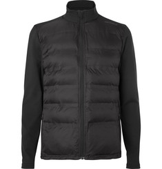 2XU Quilted Shell and Stretch-Jersey Jacket