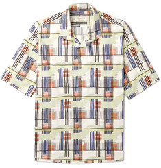 Maison Kitsuné - Printed Cotton-Poplin Shirt