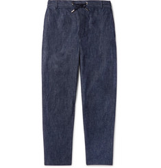 Maison Kitsuné Denim Drawstring Trousers