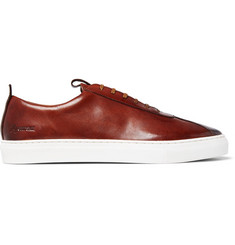 Grenson Painted Leather Sneakers