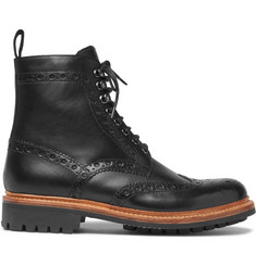 Grenson - Fred Leather Brogue Boots