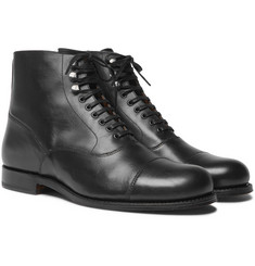 Grenson - Leander Cap-Toe Leather Boots