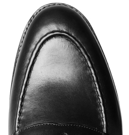 Lloyd Leather Penny Loafers by Grenson