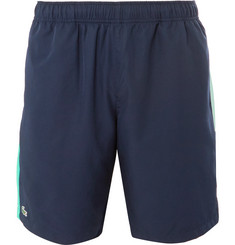 Lacoste Tennis - Wide-Leg Striped Ripstop Tennis Shorts