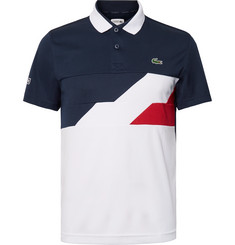 Lacoste Tennis Colour-Block Jersey Polo Shirt